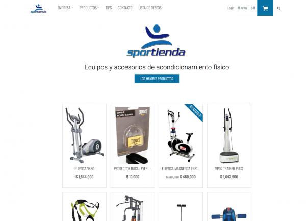 Proyecto Web. SPORTIENDA