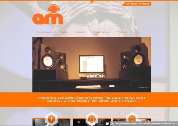 Proyecto Web. AM ESTUDIO