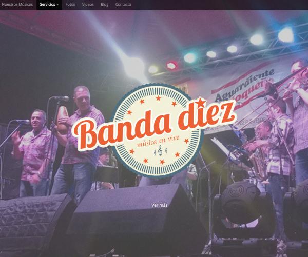 Proyecto Web. BANDA DIEZ