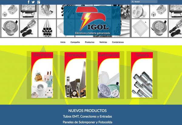 Proyecto Web. DISTRIBUCIONES IGOL SAS
